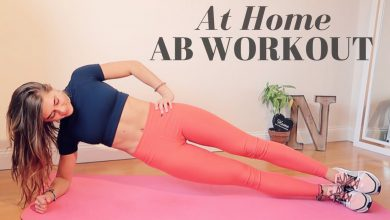 AT HOME INTENSE 10 MIN AB WORKOUT