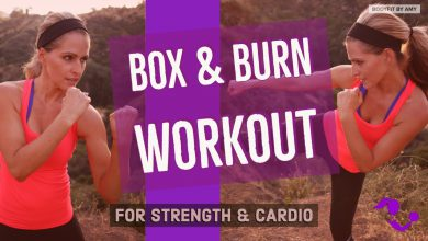 32 Minute Box and Burn Bodyweight HIIT Workout