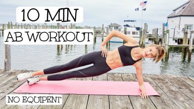 10 Minute Model Ab Routine