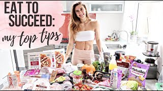 MY DIET FOR STAYING LEAN & BUILDING MUSCLE