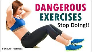TOP 5 DANGEROUS Exercises You Should Never Do Again