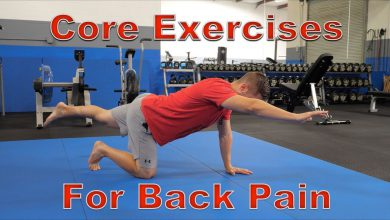 FIVE Best Core Exercises for Back Pain