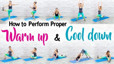 How to Perform Proper WARM UP & COOL DOWN