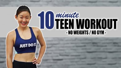 10-Minute Workout for Teenagers