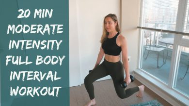 20 Min Full Body Interval Workout