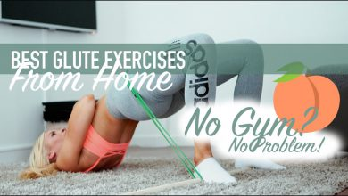 GLUTES FROM HOME! | My 8 favorite butt targeting exercises without equipment