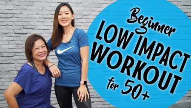 Beginner Low Impact Workout for 50+