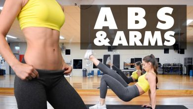 2 in 1 ABS AND ARMS Home Workout