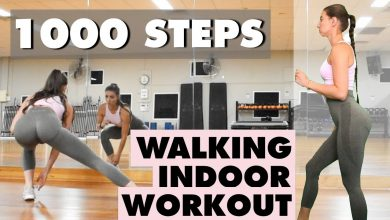 Complete 1000 STEPS With This Indoor Walking Workout