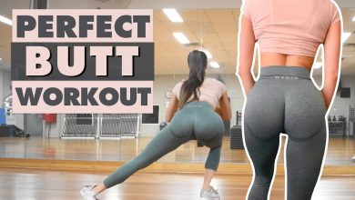 PERFECT HOME BUTT WORKOUT For Bigger and Rounder Booty